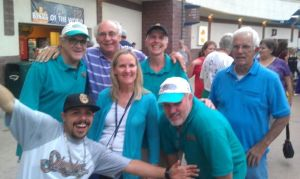 Former Sidewinders Game Day Staff Members - Together Again! (Photo Credit Steve Feldman)